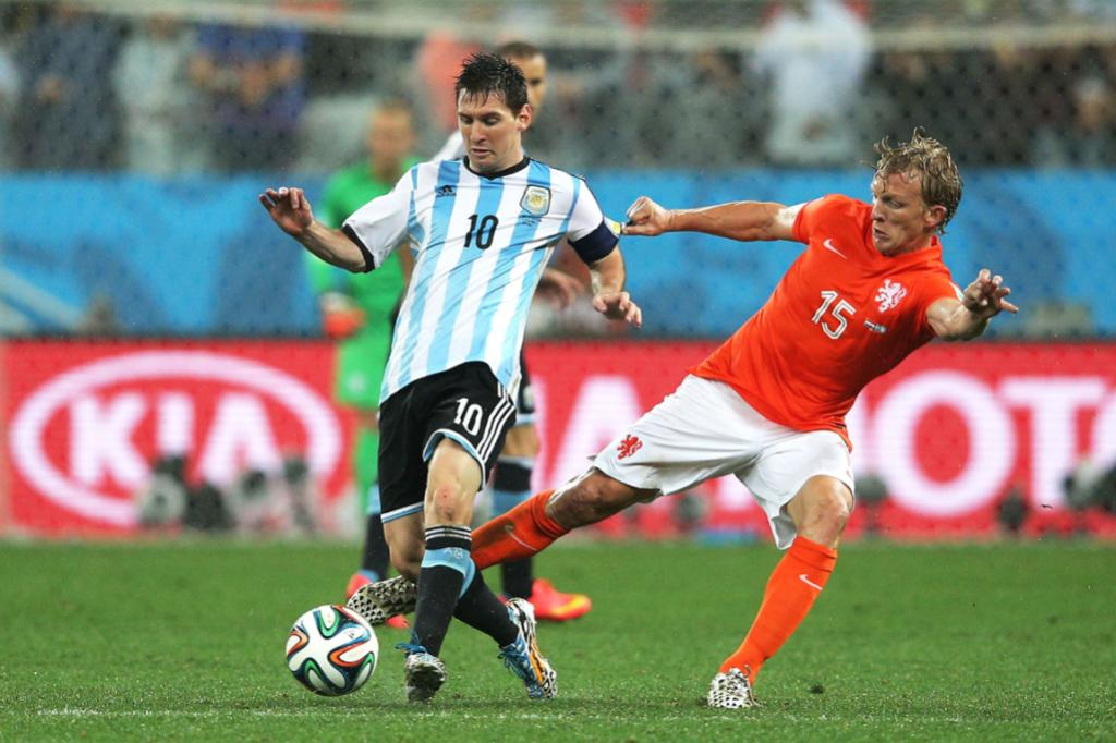 Netherlands have contained Lionel Messi well, but given half a chance he looked dynamic on the break.