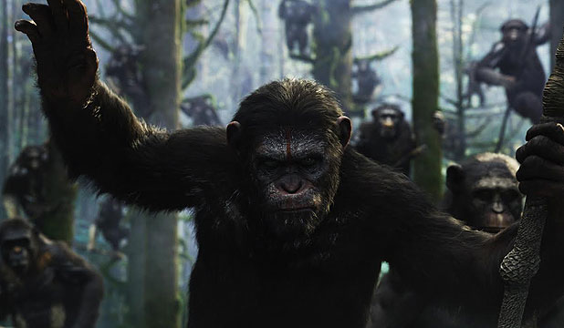 STUPEFYINGLY VIOLENT: Dawn of the Planet of the Apes
