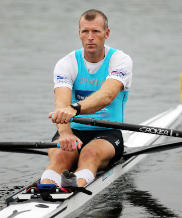 WARY: Mahe Drysdale is pleased with his form but not getting carried away heading into the final World Cup regatta of 2014 starting in Lucerne tonight.