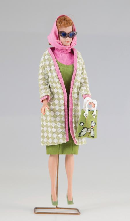 Barbie chanelling style icon Jacqueline Kennedy Onassis.