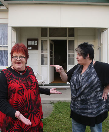 HOUSE RULES: Timaru woman Jenny Voice has moved in with her daughter, Katrina Steedman.