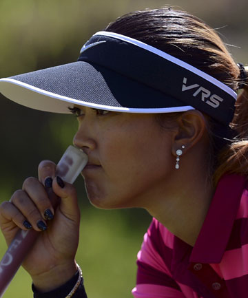 DOWN AND OUT: Michelle Wie has missed the cut at the Women's British Open.