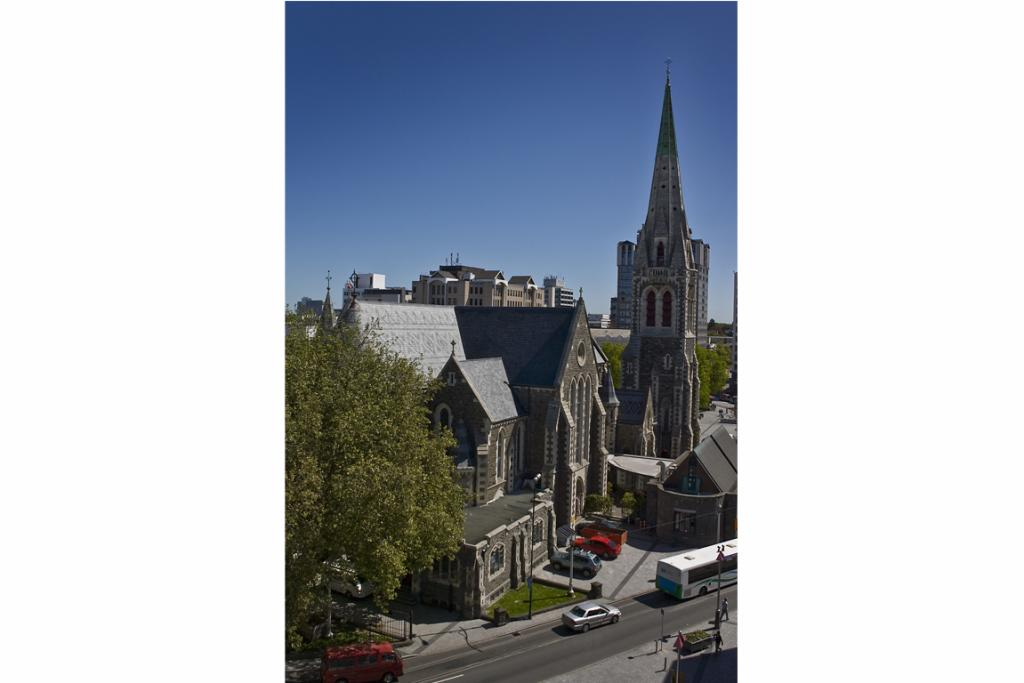 Christ Church Cathedral of All Saints, Cathedral Square: The spiritual and geographical centre of the Anglican grid of streets and squares within the Four Avenues and an innovative blend of English and French Gothic styles. Essential heritage.