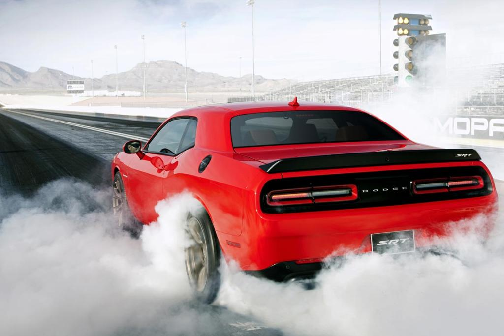2015 Dodge Challenger SRT Supercharged with HEMI Hellcat engine.