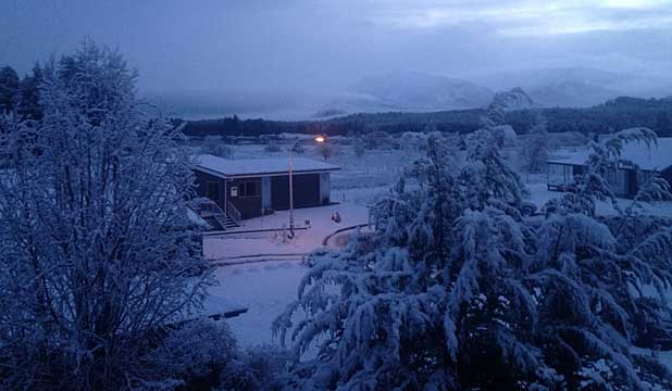 Tekapo in snow July 14, 2014