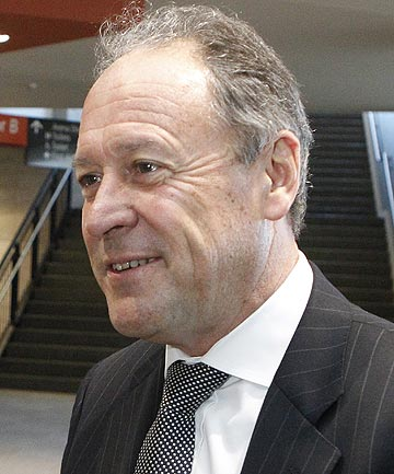 IN THE CHAIR: Kiwi Sir Ralph Norris ran one of Australia's largest banks for six years.