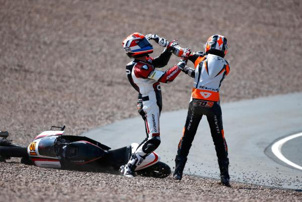 Moto3 fight