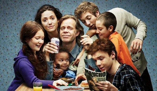 IN MUDDY WATERS: Shameless is a TV drama up for best comedy.