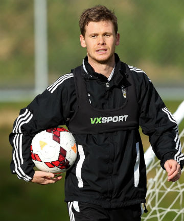 DEBUT: Michael McGlinchey will play his first game for the Wellington Phoenix tonight.