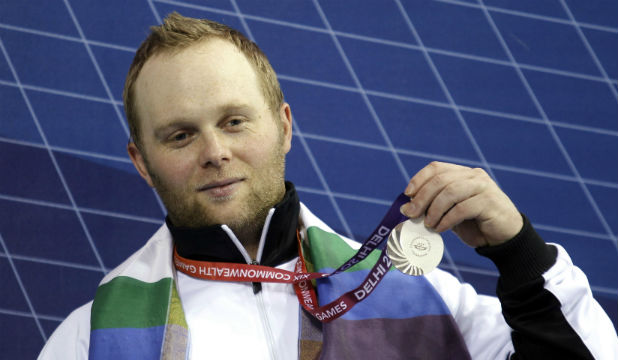 DEHLI DELIGHT: Richie Patterson aims to go one better than the silver medal he won at the Games in Delhi four years ago.