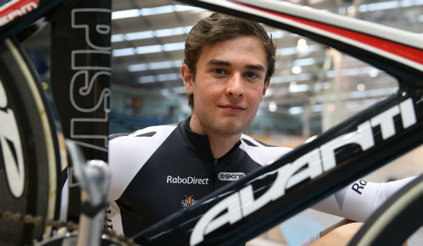 CHANGE OF PACE: New Zealand junior world track cycling representative Michael Culling.