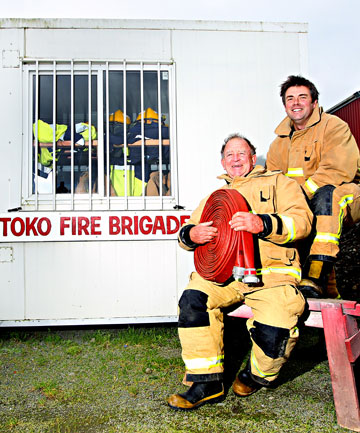 Toko firefighters