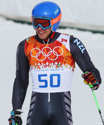 TEAM LEADER: Adam Barwood placed 25th in the slalom and 44th in the giant slalom at the Sochi Winter Olympics in February.