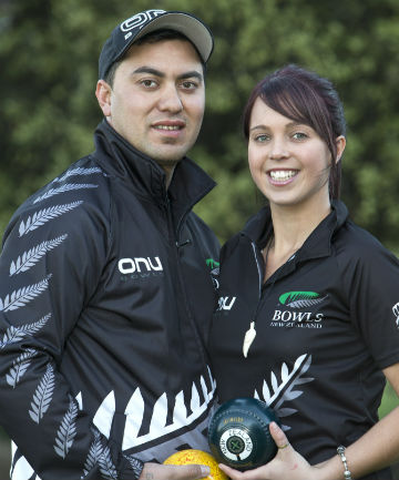 COMMITTED COUPLE: Shannon and Amy McIlroy, who both will be competing at Glasgow.