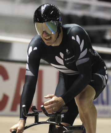 FINE FORM: Marc Ryan won a bronze medal in the men's individual pursuit at the UCI Track Cycling World Championships in February.