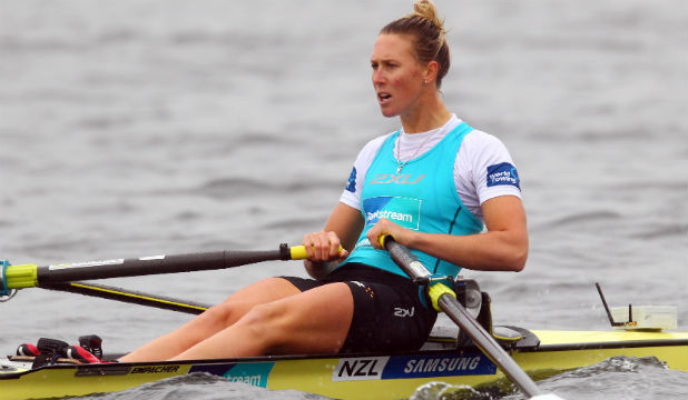 GOING FOR GOLD: Single sculler Emma Twigg still has her eyes fixed on the 2016 Rio Olympics.