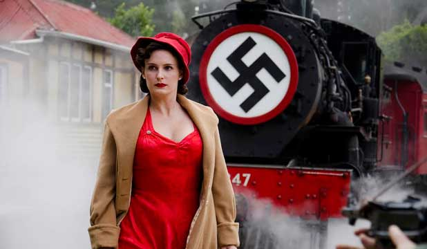 BRAVE AND HOT-TEMPERED: Shortland Street actress Rachael Blampied as French resistance fighter Nancy Wake.
