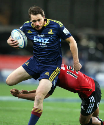 BIG BOOST: Highlanders co-captain Ben Smith will return from injury to face the Sharks in Durban.
