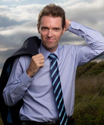 AMBITIOUS: Conservative Party leader Colin Craig.