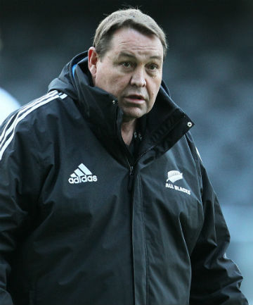 ON THE RISE: All Black coach Steve Hansen expects the Wallabies to be a force in the Rugby Championship.