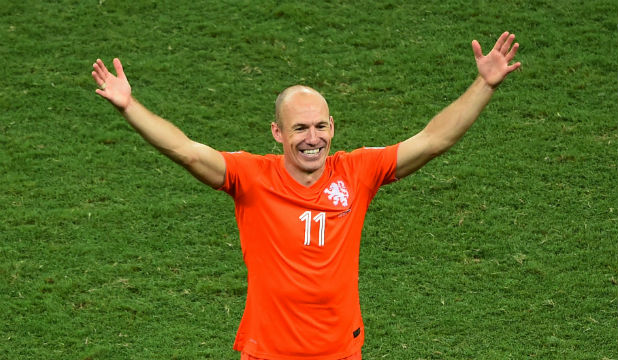 DUTCH MASTER: Love him or loathe him, Netherlands winger Arjen Robben was one of the stars of the tournament.