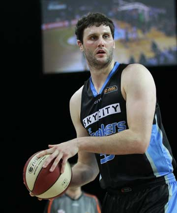 BIG MAN: Tall Blacks centre Alex Pledger is out of action for up to six weeks with an ankle injury.