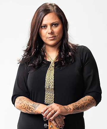 AWARD WINNER: Anika Moa took home Children's Song of the Year with her track Colours are Beautiful.
