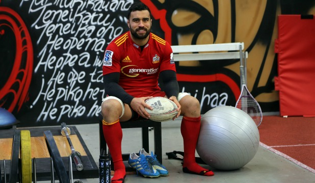 All Black and Chiefs  co-captain Liam Messam