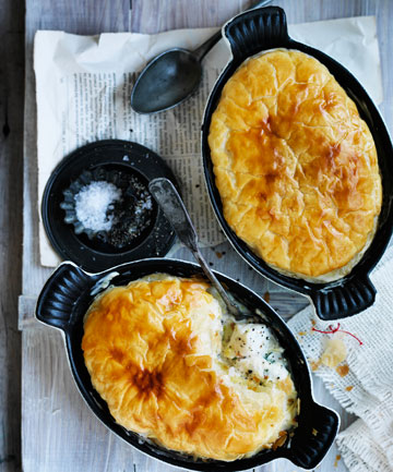 WINTER WARMER: Does it get more comforting than a warm fish pie?