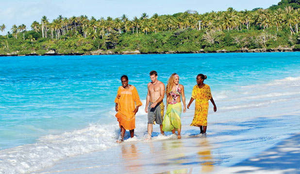 NEW CALEDONIA: In New Caledonia, the indigenous people very proud of their land and heritage and are happy to share it with the tourists.