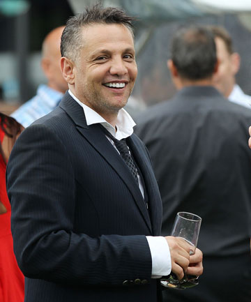 SELLING UP: Bankrupt property developer Terry Serepisos in happier days.