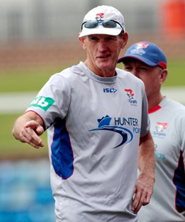 LEAVING: Newcastle Knights coach Wayne Bennett will join the Brisbane Broncos next year.