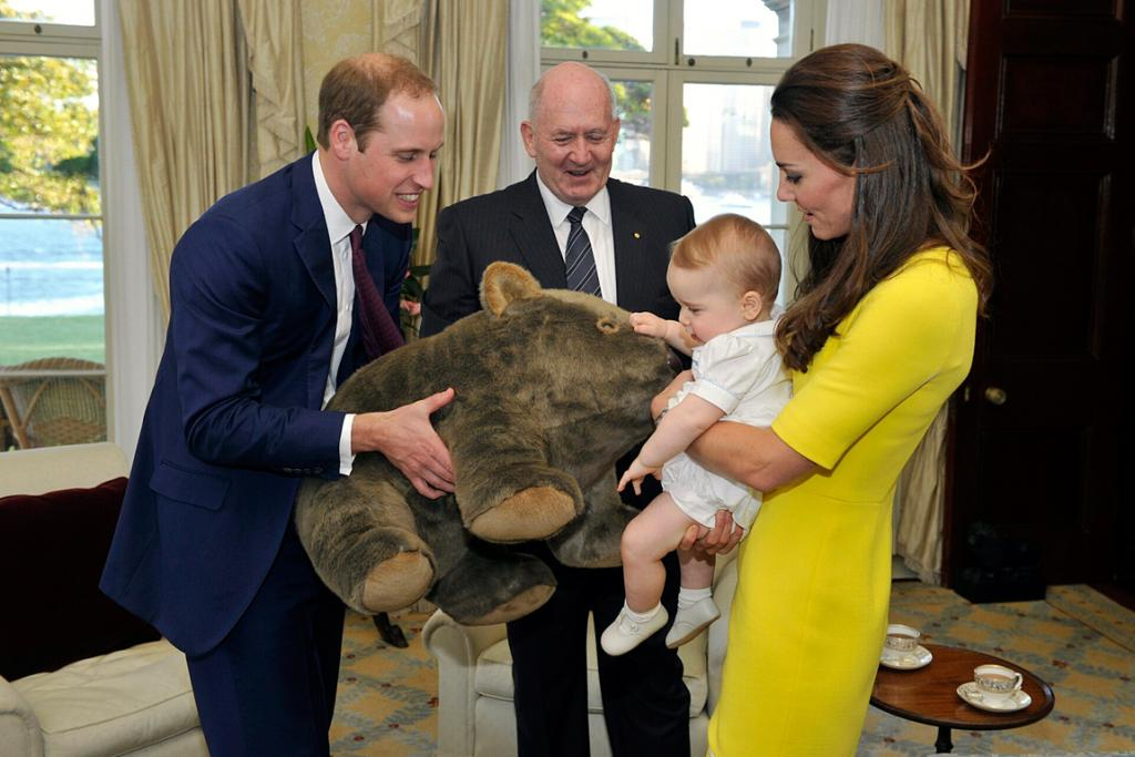 Prince George: A year of firsts