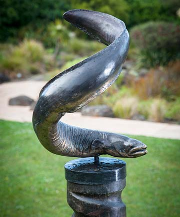 Eel Sculpture