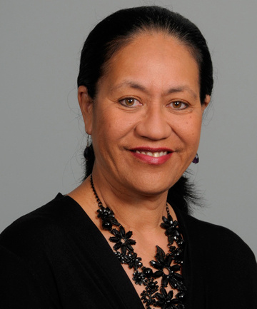 CLAUDETTE HAUITI: Handed back her charge card.