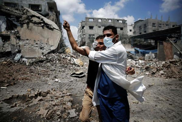 Gaza crisis in photos