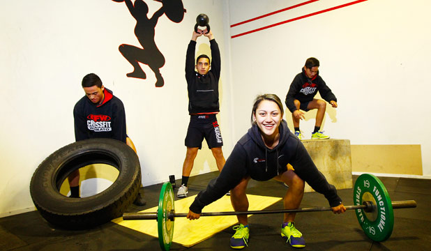 FITNESS FOUR: Four Waikato teens are off to the USA to put their CrossFit skills to work.