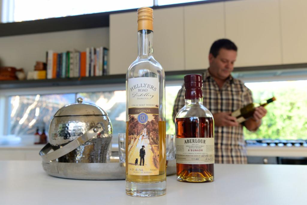 SATURDAY NIGHT TIPPLE: Gary is a big fan of international and Australian whiskies.