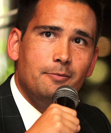 'EXCITING OPPORTUNITY': Minister of Energy and Resources Simon Bridges announced the exploration permits today at the Minerals West Coast forum in Greymouth.
