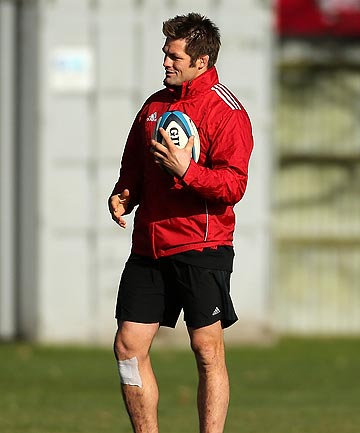 BACK: All Blacks skipper Richie McCaw has been named to return from injury in the Crusaders starting lineup for their Super Rugby semifinal against the Sharks.