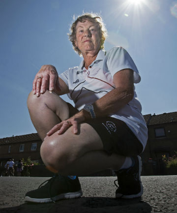 GOLDEN OLDIE: Susan Curran is New Zealand's oldest competitor in Glasgow.