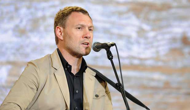 SONGWRITER: David Gray says his new album has a contemporary edge.