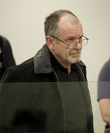 SENTENCED: Peter James Edwards, 58, pleaded guilty to supplying 72 firearms to people without licences and supplying methamphetamine.