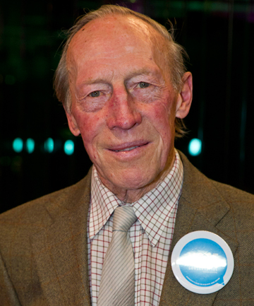 OLD HEAD: The Conservative Party Nelson's 81-year-old candidate John Green.