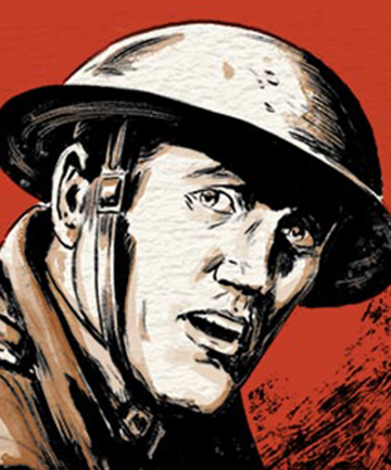 COMMEMORATED: An illustration of Henry Nicholas by Charlie Gates.