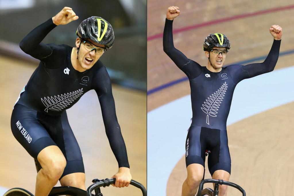 Tom Scully delivered New Zealand its third gold medal at the Sir Chris Hoy velodrome, winning the men's 40km points race.