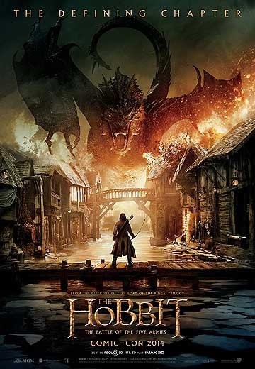 NEW POSTER: The Hobbit: The Battle of the Five Armies