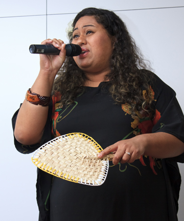 MUSICAL: Rosita Vai, who was name winner of New Zealand Idol in 2005, is diplomatic about the experience.
