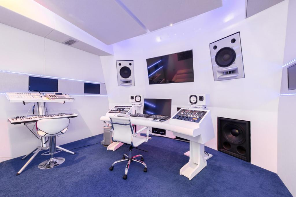 THE ESSENTIALS: Akon is a successful producer and so a home recording studio is just the ticket.