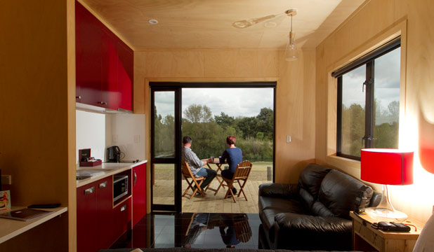 BOUTIQUE HIDEAWAY: Te Aroha Landing aims to provide high-end accommodation for independent travellers.